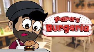 LAS HAMBURGUESAS MÁS SABROSAS DEL MUNDO | Papa's Burgeria