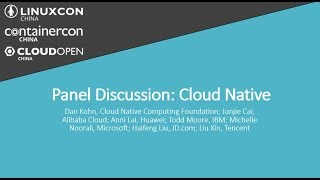Panel Discussion: Cloud Native