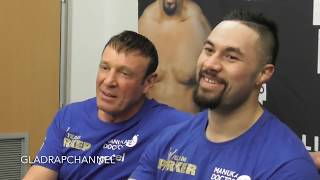 Full Post Fight interview after Joseph Parker knocks out Alexander Flores in Christchurch