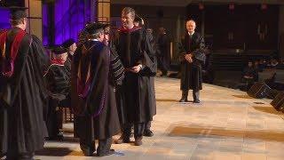 Commencement 2012 - Part 5 - Conferral of Degrees: D.Min, Ph.D, Dedicatory Prayer, Benediction