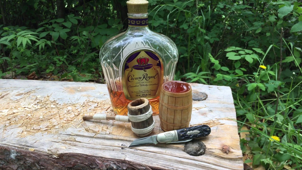 Whiskey Barrel Shot Glass - Easy Woodcarving Project
