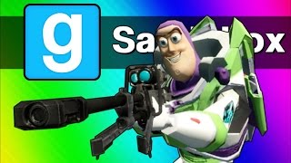 Gmod Sandbox Funny Moments - Sniper Battle, Ninja Vanish, C4 Cocoon! (Garry
