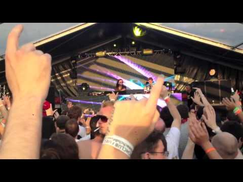 Scot Project live @ Luminosity Beach 2013 - Arome - Hands Up