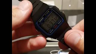 Casio F-91W-1 Classic Vintage Original Watch overview | Short Reviews
