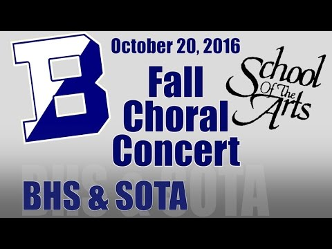 BHS & SOTA Fall Vocal Concert