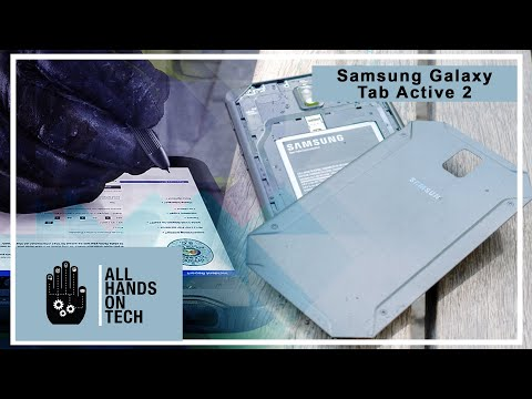 All Hands on Tech - Samsung Galaxy Tab Active2 review - rugged and modern tablet Mp3