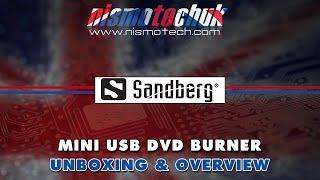 Sandberg Mini USB DVD Burner {Unboxing & Overview}