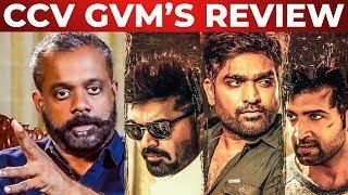 CCV Review by Gautham Menon | Chekka Chivantha Vaanam Review | STR | Mani Ratnam