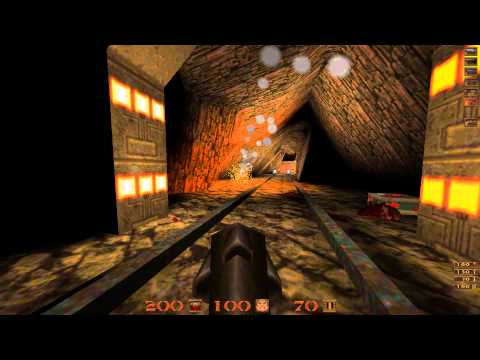 Quake Mission Pack 1 Scourge of Armagon - 03 The Lost Mine - All Secrets - 1080p 60f |