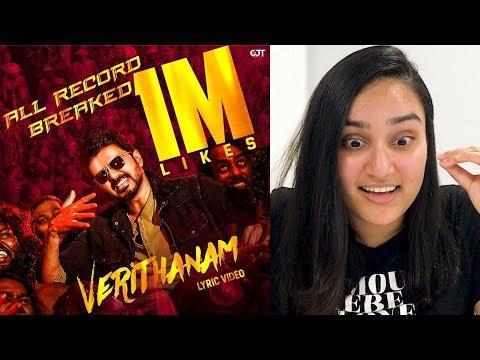 Download Lagu  Verithanam   REACTION | Bigil | Tamil | Thalapathy Vijay Mp3 Free
