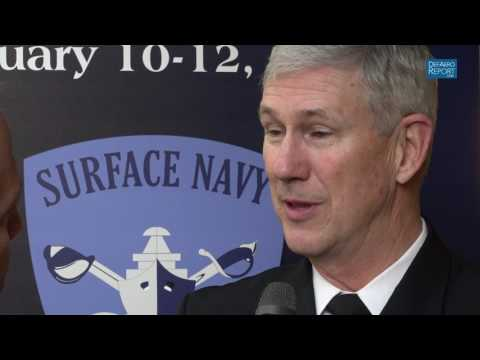 NAVSEA Commander Moore on Speeding Ship Maintenance, Improving Capabilities