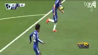 اهداف مباراة تشلسي و استون فيلا 2-0 كامله