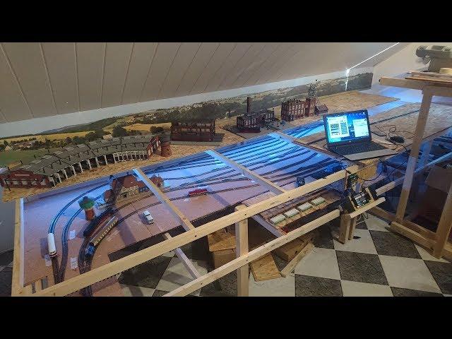 2.12 Internationaler Tag der Modelleisenbahn/Update Anlagen Steuerung digikeijs DR 5000+Testfahrten