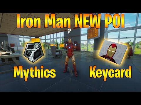 How to Kill Iron Man + Use His Mythic Superpowers in Fortnite!