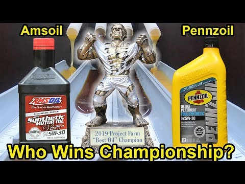 Amsoil or Pennzoil, which wins Championship? Let's find out!