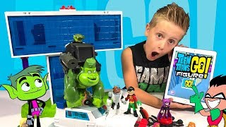 Teen Titans Go! Toys & Teen Titans Go Figure Game Review for Kids!