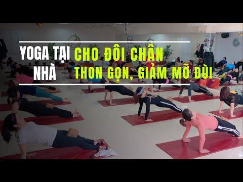 Yoga tại nhà: Cho đôi chân thon gọn – giảm mỡ đùi cùng Đặng Kim Ba