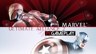 Marvel: Ultimate Alliance 2 Gameplay (PC HD)