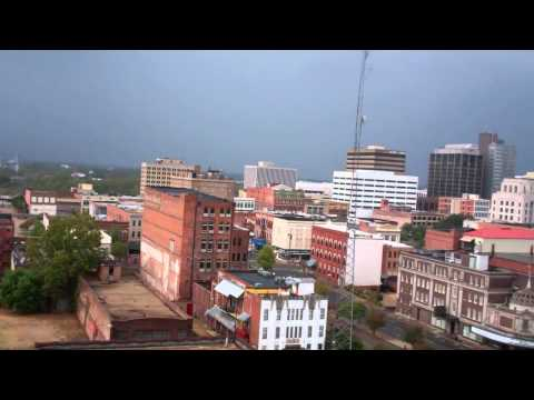 Downtown Shreveport, La Skyline at 4 pm Sept 18, 2011