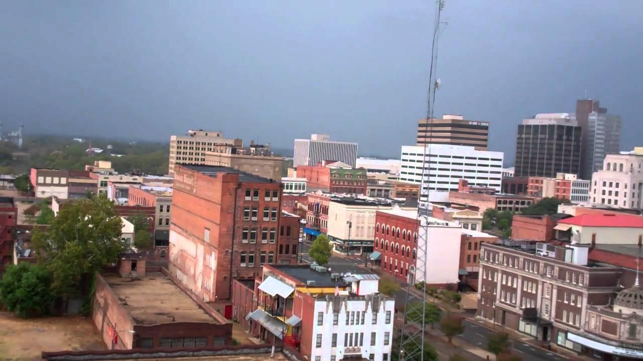 Downtown Shreveport, La Skyline At 4 Pm Sept 18, 2011