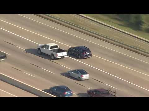 RAW VIDEO: Woman leads police on chase from Fort Worth to Dallas during Friday traffic