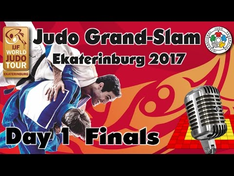 Judo Grand-Slam Ekaterinburg 2017: Day 1 - Final Block