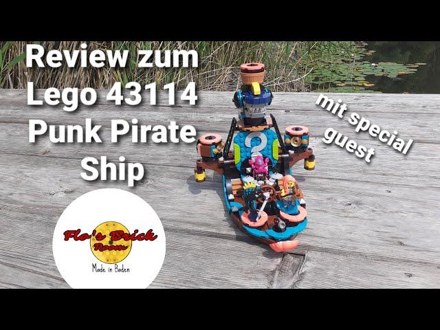 Review zum LEGO® 43114 Punk Pirate Ship