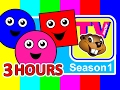 Kids TV Show Busy Beavers BBTV Season 1 3 Hours Teach ABCs 123s Colors Shapes Nursery Rhymes mp3