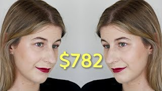 FULL FACE USING MY MOST EXPENSIVE MAKEUP