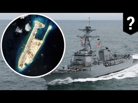 South China Sea: China sends warship, jets after US destroyer near disputed islands - TomoNews