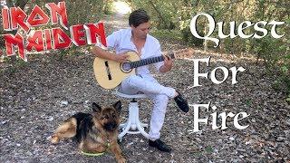 Quest For Fire (IRON MAIDEN) Acoustic - Thomas Zwijsen