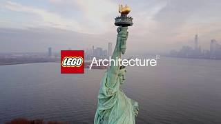 The Statue of Liberty buildable in LEGO bricks from LEGO Architecture