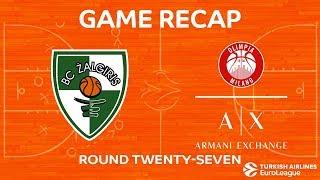 Highlights: Zalgiris Kaunas - AX Armani Exchange Olimpia Milan