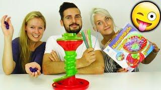 KATHI vs. KAAN vs. NINA: Murmelmikado - Wer sammelt, der verliert! Spiel mit mir Kinderspielzeuge