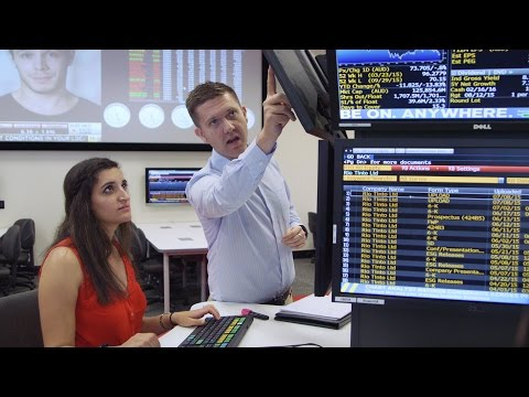 Curtin's Trading Room | Experience the cutting-edge of the finance industry
