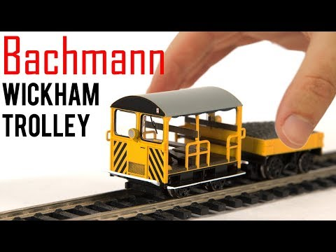 Bachmann's Smallest Train? | Wickham Trolley | Unboxing & Review