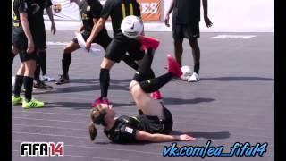 Fc barcelona girl football soccer freestyle vk com ea fifa14 mix