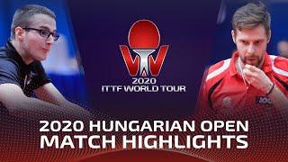 Дмитрий Левайац vs Tamas Lakatos | Hungarian Open 2020 (FS)