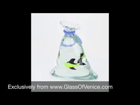 Murano Glass Aquarium With Fish | Www.GlassOfVenice.com