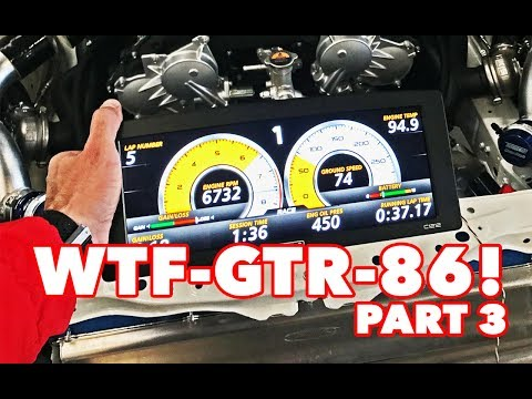 WTF86 PART 3- R35 GTR Engine into StreetFX Toyota 86 - (Build Update 3) with MOTEC goodness