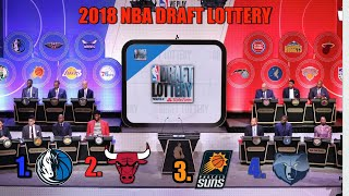 2018 NBA Draft Lottery Live Reaction, IT FINALLY STARTS!!!! Pt 2...76ers Get The 10th Pick Overall!!