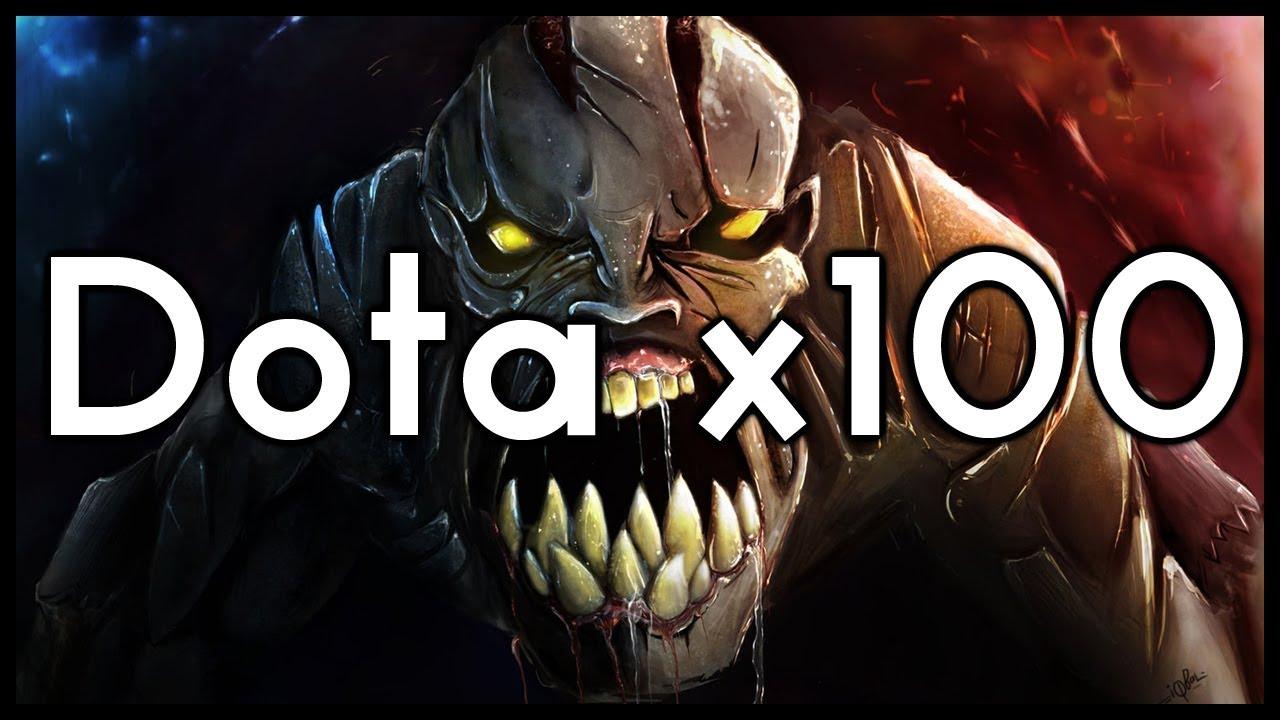 Dota 2 Mods | DOTA X100 IS STUPID!!