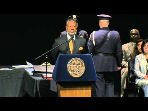 Mayor de Blasio Attends and Delivers Remarks at Department of Correction Graduation