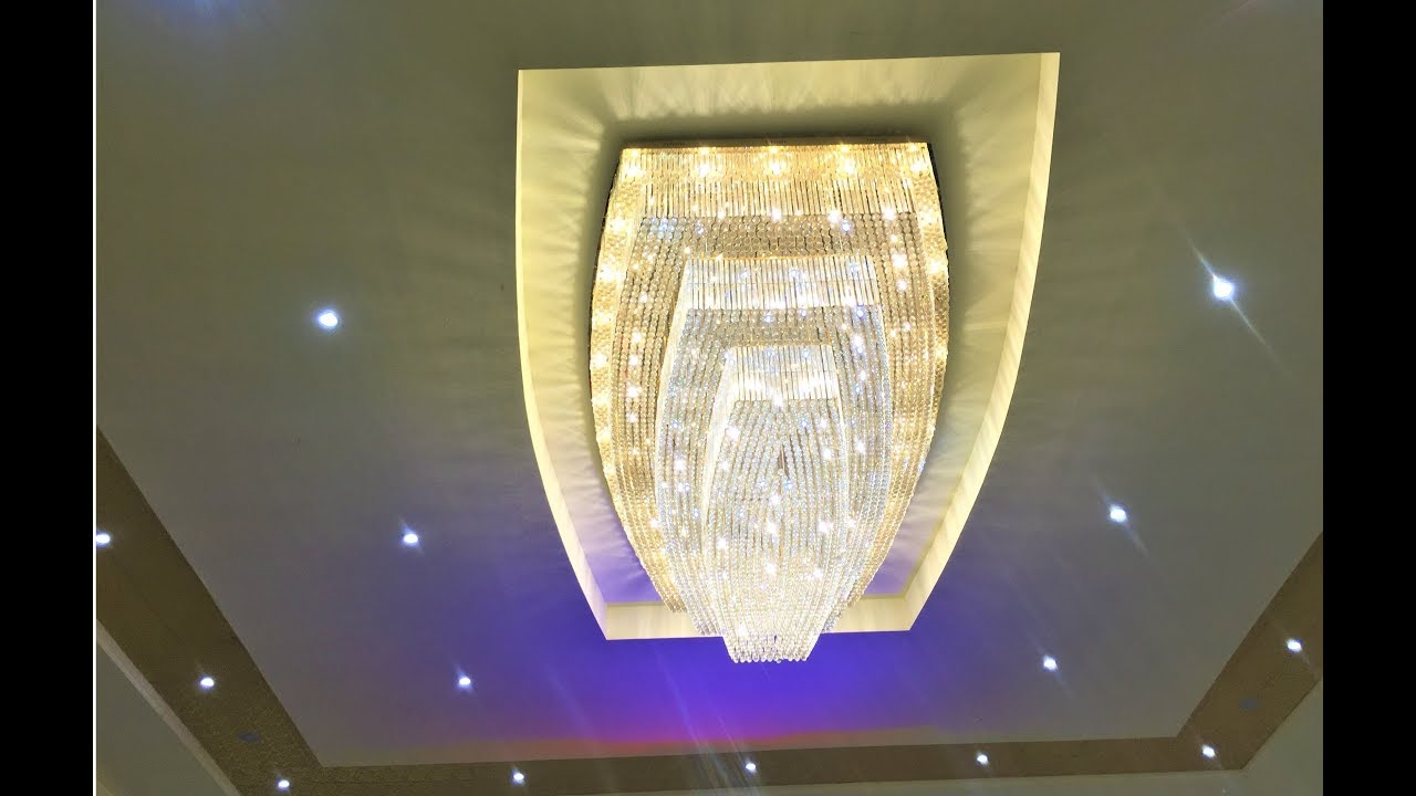 Beautiful Ceiling Jhumar With Usb Bluetooth Speaker Ceiling Chandelier Youtube