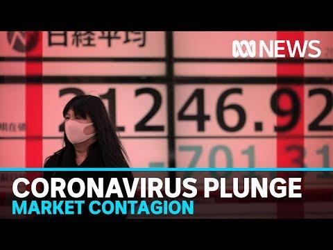 Share Market Takes Record Tumble Amid Increasing Fears Of Coronavirus Pandemic | ABC News