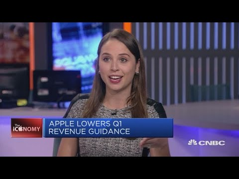 Apple lowers its first-quarter revenue guidance | Squawk Box Europe