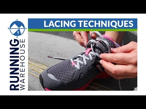 Lacing Techniques for Running Shoes