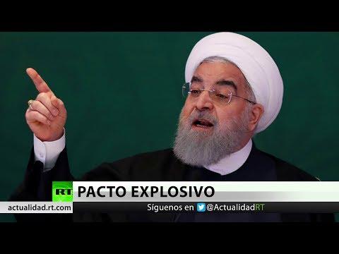"""Irán advierte a Trump: Si EE.UU. abandona el acuerdo nuclear, """"enfrentará graves consecuencias"""""""