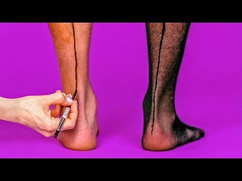 28 PANTYHOSE HACKS FOR WOMEN AND MEN thumbnail