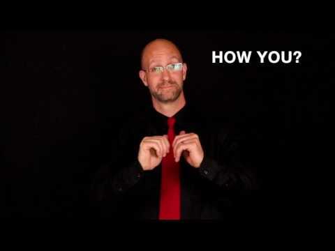 Greetings & Responses Vocabulary | ASL - American Sign Language